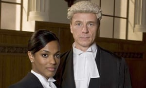 Freema Agyeman and Ben Daniels in Law & Order