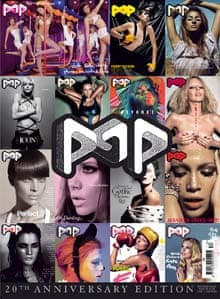 Pop magazine: special anniversary edition printed in November 2008 to celebrate 20 issues and 10 years