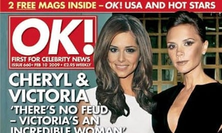 Front cover of OK magazine - February 10 2009