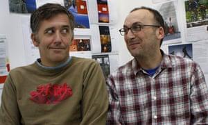 Tony Davidson, left, and Kim Papworth