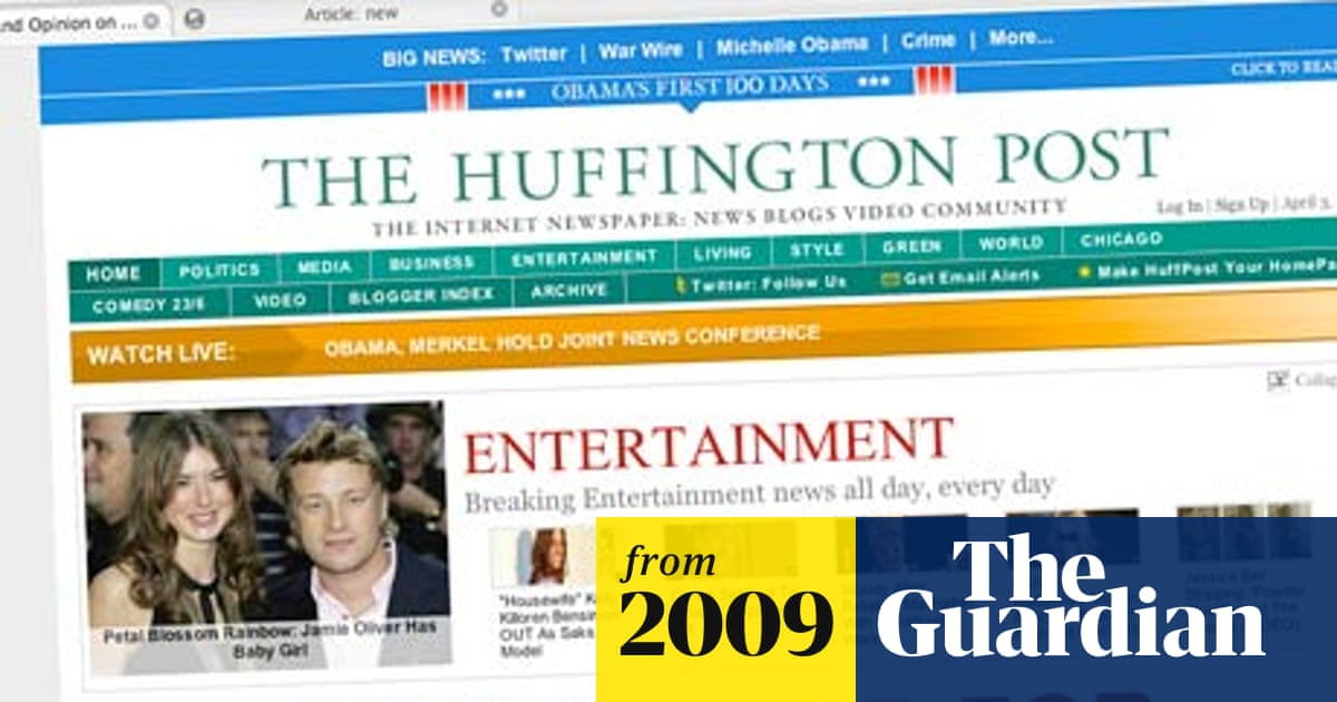 Is the Huffington Post ready to replace the ailing US