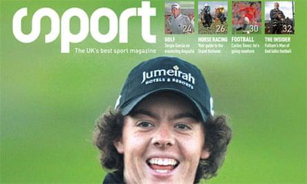 Sport magazine: April 2009