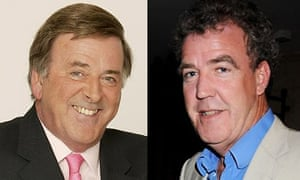Terry Wogan and Jeremy Clarkson composite
