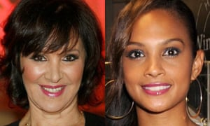 Arlene Phillips and Alesha Dixon