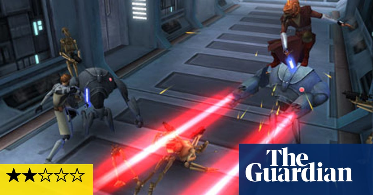 Star Wars The Clone Wars Republic Heroes Games The Guardian