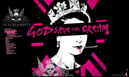 Icecreamists' 'God Save the Cream' website