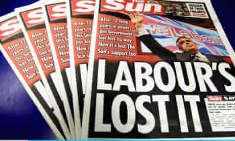 The Sun switches its support to Conservative