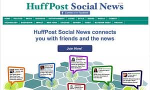 Social-News-Huffington Post