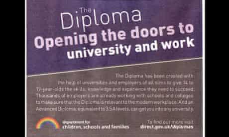 Diploma ad banned by ASA