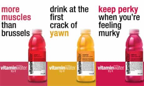 Coca-Cola's Glaceau Vitamin Water ad