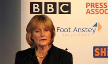 Peta Buscombe addresses 2009 Society of Editors conference