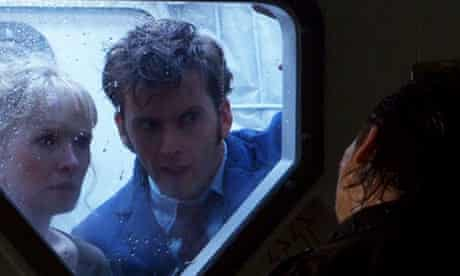 David Tennant and Lindsay Duncan in Doctor Who special The Waters of Mars