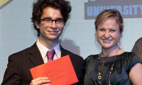 Guardian student media awards Patrick Kingsley