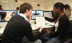 Goldsmiths students at work on EastLondonLines