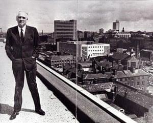 Manchester TV: Granada TV founder Sidney Bernstein in 1963