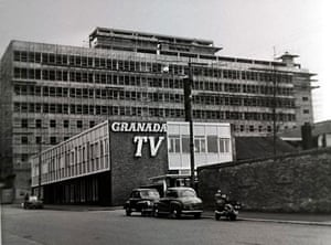 Manchester TV: The Granada studios complex on Quay Street, Manchester