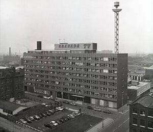 Manchester TV: Granada studios complex