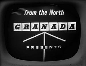 Manchester TV: Granada ident from 1959