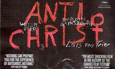 Antichrist movie ad