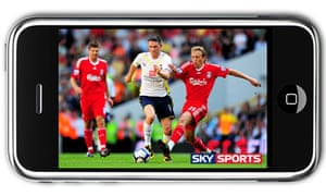 Sky Sports on iPhone