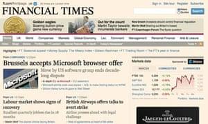 financial times screenshot