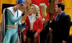 Big Top: Bruce MacKinnon as Boyco, Amanda Holden as Lizzie and Patrick Baladi as Andy