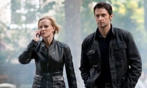 Spooks episode 5: Hermione Norris as Ros Myers and Richard Armitage as Lucas North