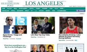 los angeles huff po