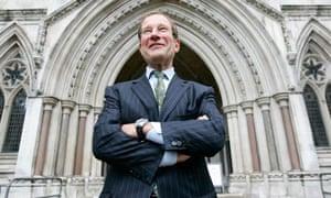 Richard Desmond at the High Court