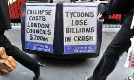 London Evening Standard newsstand