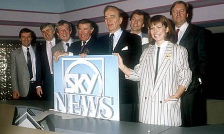 Sky TV launch 1989