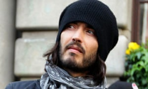 Russell Brand at G20 protest