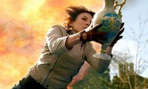 Fiona Bruce in BBC HD ad