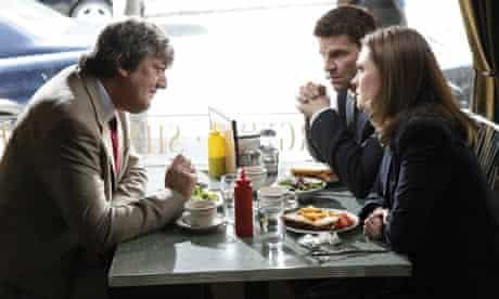 Bones: Stephen Fry, David Boreanaz as and Emily Deschanel