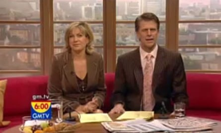 GMTV: Penny Smith and Andrew Castle