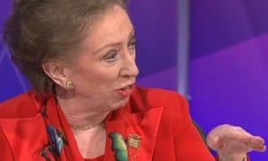 Margaret Beckett on Question Time May 14 2009