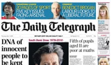 Telegraph front with normal puffs