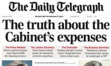 Telegraph MPs expenses day 1