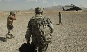 New York Times photographer Tomas Munita at work in Paktia Province, Afghanistan