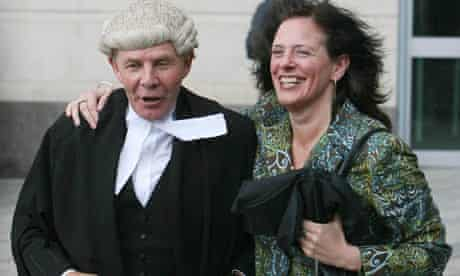 Suzanne Breen and her QC Joe Rice