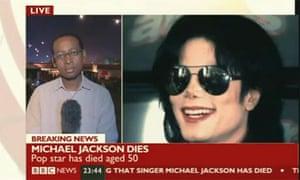 BBC confirms Michael Jackson's death