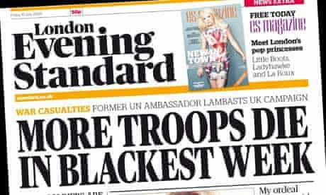London Evening Standard - 10 July 2009