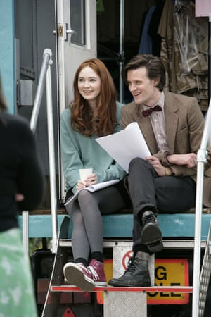 Doctor Who: Karen Gillan and Matt Smith
