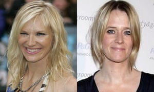 Jo Whiley and Edith Bowman