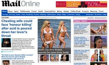Mail Online July 2009
