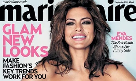 Marie Claire redesign issue September 2009