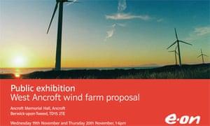 E.ON windfarm ad