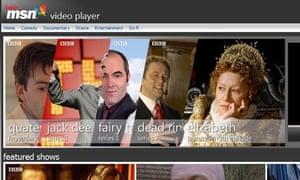 MSN video player