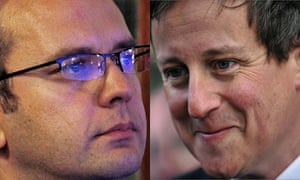 Andy Coulson and David Cameron montage