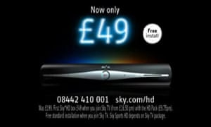 Sky+ HD ad